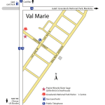 Val Marie Map